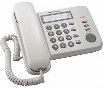 სტაციონარული ტელეფონი PANASONIC KX-TS2352UAW