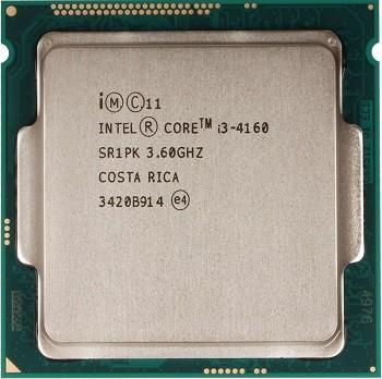 INTEL CORE I3 4160 (3 MB ქეშ მეხსიერება, 3.6 GHZ) TRAY