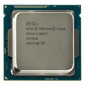 INTEL PENTIUM G3260   (3 MB ქეშ მეხსიერება, 3.3 GHZ) TRAY