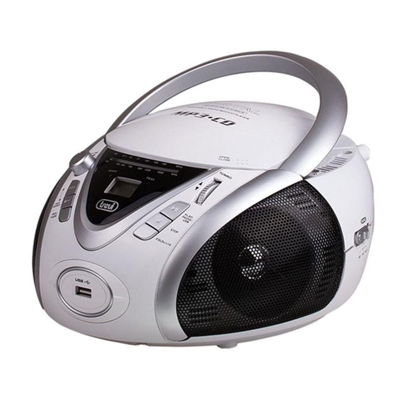 მუსიკალური ცენტრი TREVI MP542USB WHITE