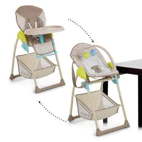 ბავშვის სკამ-მაგიდა + შეზლონგი HAUCK (665275)