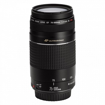 CANON EF 75-300mm f/4-5.6 III BLACK