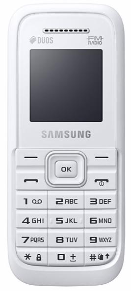 SAMSUNG B110 DUAL SIM WHITE
