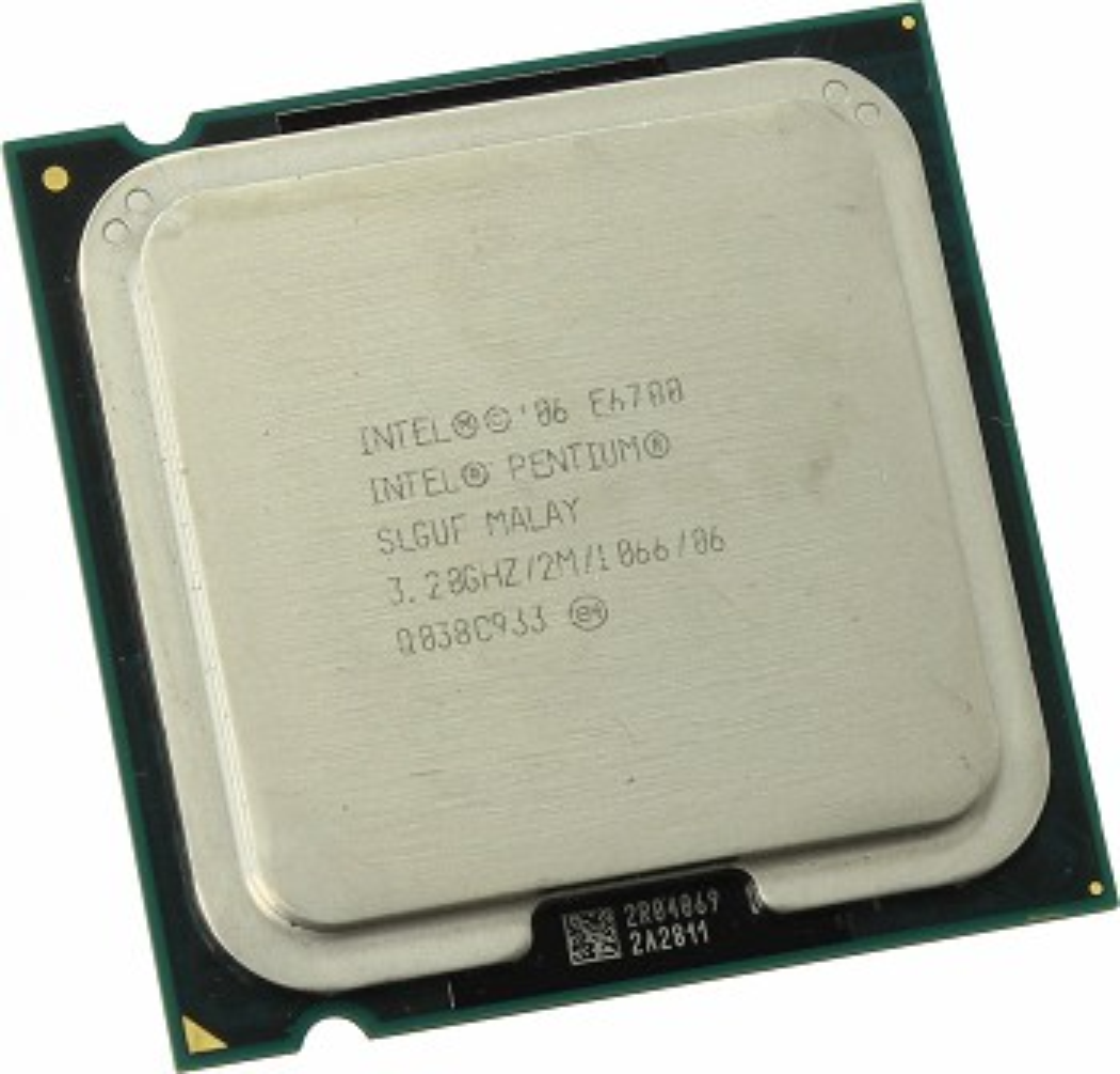 INTEL PENTIUM E6700 (2 MB ქეშ მეხსიერება, 3.2 GHZ) TRAY