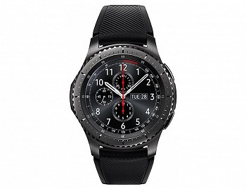 SMART WATCH SAMSUNG GEAR S3 FRONTIER BLACK (SM-R760NDAASER)
