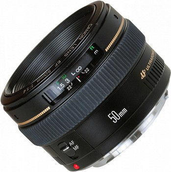 CANON EF 50mm f/1.4 USM BLACK