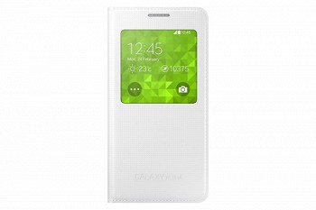 SAMSYNG GALAXY ALPHA S VIEW COVER WHITE (EF-CG850BWEGRU)