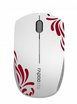 RAPOO 3300P SUPER-MINI WIRELESS OPTICAL MOUSE WHITE