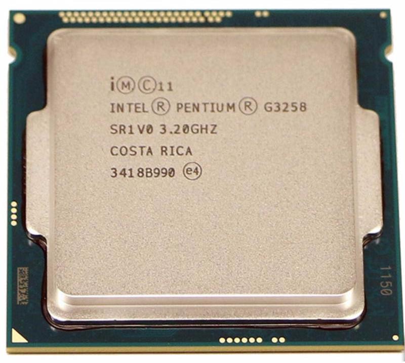 INTEL PENTIUM G3258 (3 MB ქეშ მეხსიერება, 3.2 GHZ) TRAY