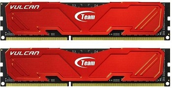 TEAM VULCAN 16GB (2 X 8GB) DDR3 2133MHZ