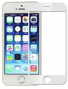ეკრანის დამცავი GLASS PRO+ TEMPERED GLASS APPLE IPHONE 5S WHITE