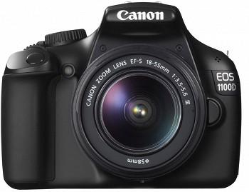 CANON EOS 1100D 18-55 III  75-300 50-1.8 3 LENS KIT BLACK (5161B029AA)
