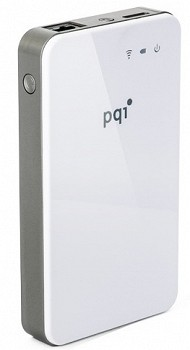 PQI AIR BANK HDD USB 3.0, ETHERNET, WI-FI 500 GB WHITE (6W31-500GR2002)