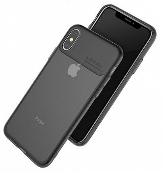 HOCO WATER RHYME CASE FOR APPLE IPHONE XS MAX BLACK