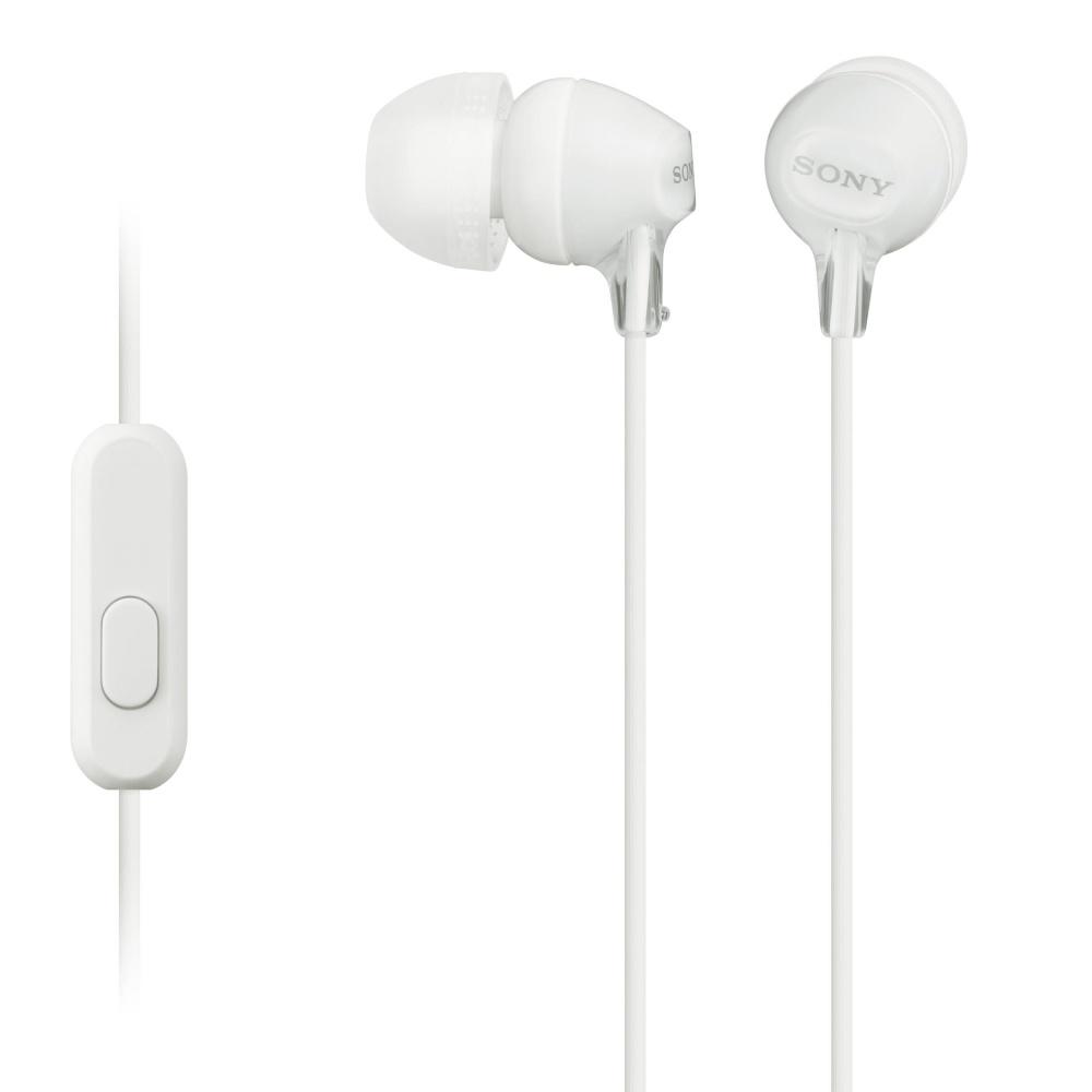ყურსასმენი SONY MDR-EX155APW WHITE