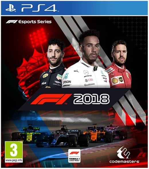 კონსოლის თამაში F1 2018 (PLAYSTATION4)