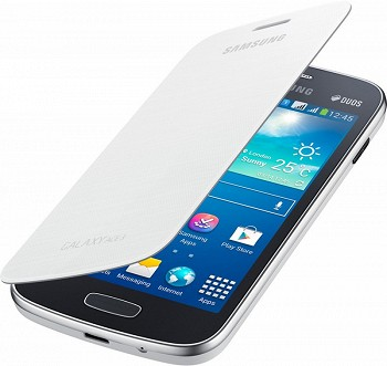 SAMSUNG GALAXY CORE FLIP COVER WHITE