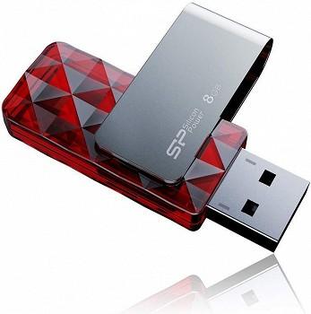 SILICON POWER ULTIMA U30 8GB RED (SP008GBUF2U30V1R)