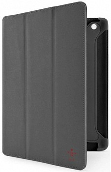 BELKIN FOLIO WITH STAND AND AUTOWAKE MAGNETS FOR IPAD GRAY F8N784CWC01