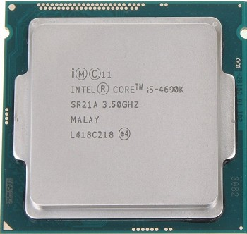 INTEL CORE I5 4690K (6 MB ქეშ მეხსიერება, 3.5 GHZ) BOX