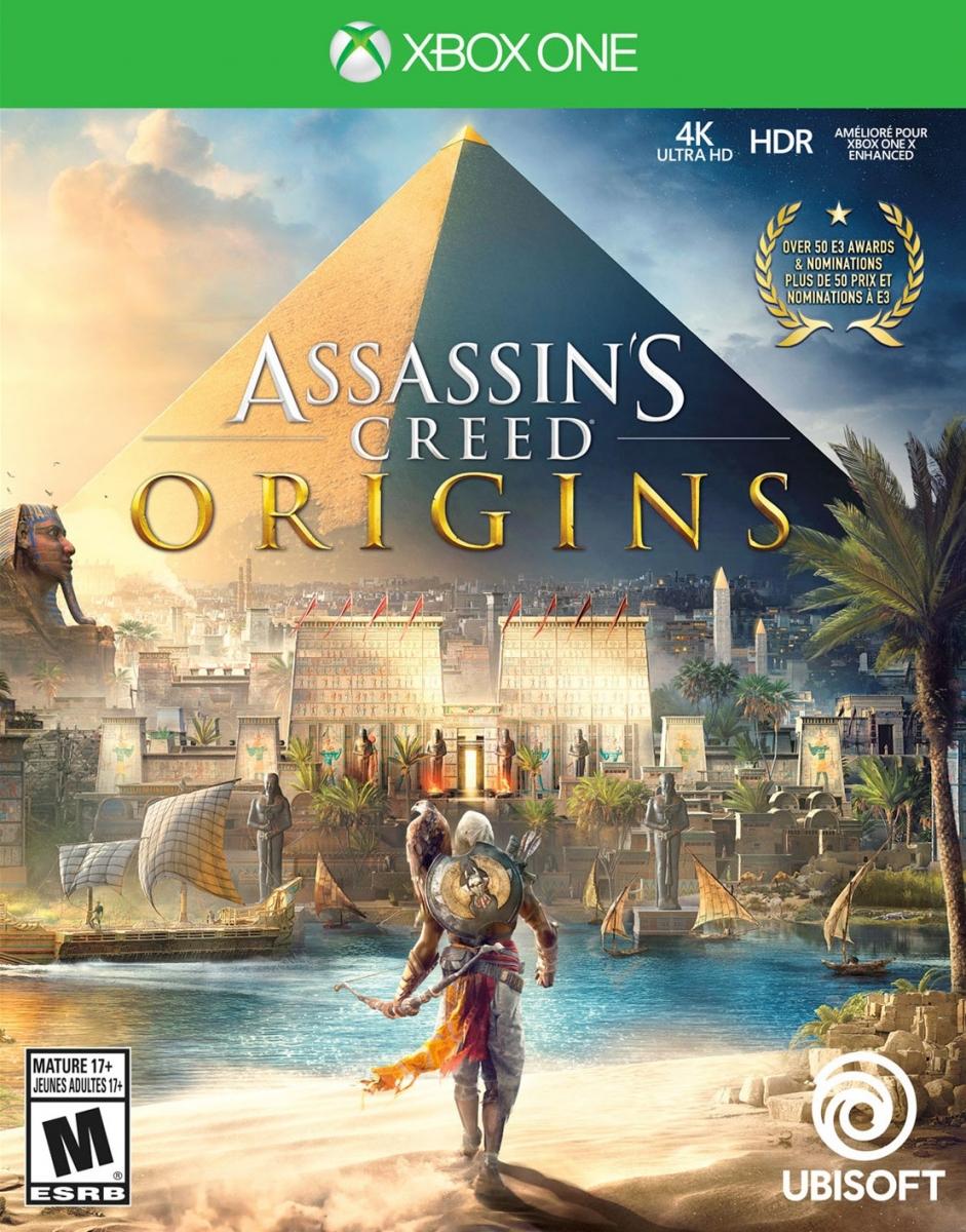 კონსოლის თამაში ASSASSINS CREED ORIGINS (XBOX ONE)