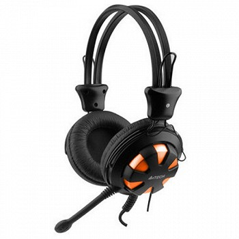 A4TECH GAMING HEADSET HS-28 (BLACK+YELLOW) (HS-28-2)