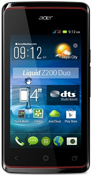 ACER LIQUID Z200 (HM.HFEER.001) 4GB BLACK
