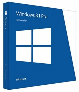 MICROSOFT FQC-06949 WINDOWS 8.1 PROFESSIONAL 64-BIT ENGLISH 1PK OEM DVD