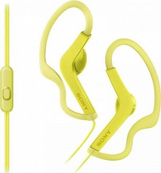 SONY MDRAS210APY.E YELLOW