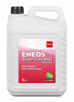 ENEOS SUPER COOL BSG ORGANIC ANTIFREEZE COOLANT (EU0310295 GREEN 5 L)