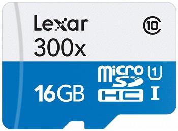 LEXAR MICROSDHC 16 GB UHS-I
