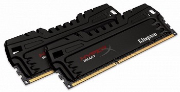 KINGSTON HYPERX BEAST 16GB (2 x 8GB) DDR3 2400MHZ (HX324C11T3K2/16)
