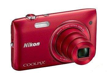 NIKON COOLPIX S3400 RED