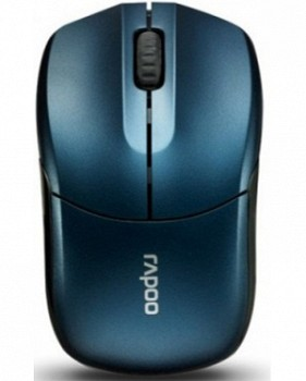 RAPOO 1190 2.4G WIRELESS ENTRY LEVEL 3 KEY MOUSE BLUE