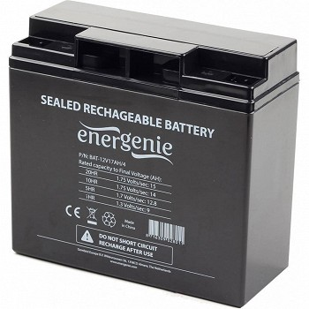 UPS აკუმულატორი ENERGENIE BAT-12V17AH/4