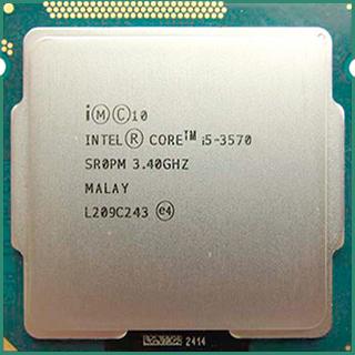 INTEL CORE I5 3570 (6 MB ქეშ მეხსიერება, 3.4 GHZ) TRAY