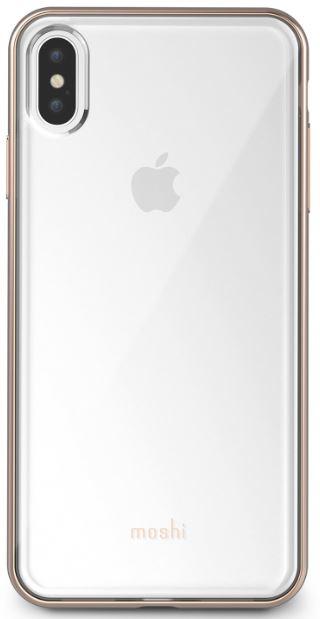 MOSHI VITROS FOR APPLE IPHONE XS MAX (99MO103302) TRANSPARENT GOLD